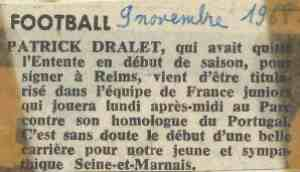 Un petit filet dans France Foot.
